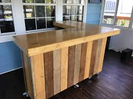 Rustic Reception Desk The L Shaped Maggie Rustic Barn Wood Style Bar Sales Counter