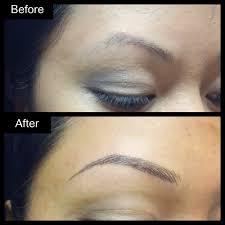 Hair Stroke Eyebrow Tattoo Nyc Semi Permanent Makeup Cosmetic Tattoo Hair Stroke Eyebrow