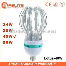 light bulb shaped l in smd l 40w lotus shaped smd 2835 e27 led corn bulb l lighting