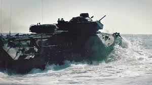 amphibious vehicle marines u s marines amphibious vehicles go for a swim aiirsource
