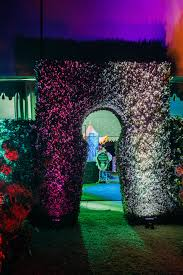 alice in wonderland entrance idea clients k u0026 j august
