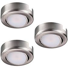 dimmable led puck lights amazon com dimmable led puck light 120v under cabinet lighting