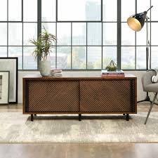 amazon com sauder harvey park 54 in entertainment credenza home