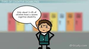 what are cognitive disabilities definition types u0026 examples