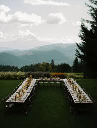 Table Mountain Oregon Diy Oregon Destination Wedding Laureen Seth Green Wedding