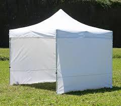 gazebo in alluminio pieghevole gazebo pieghevole 3x3 bianco alluminio 40mm con teli laterali