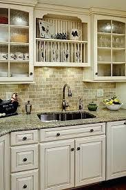 country kitchen backsplash best country kitchen with ceramic backsplash tiles pretty