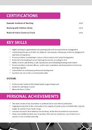 Sample Resume For Preschool Teacher 87 Resume Example Teacher Sample Teacher Resume Objectives