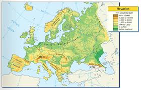 africa map elevation 25 europe l2 rainfall and elevation mr peinert s social