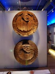 great wood carvings inside the castle a dress picture of stirling castle stirling