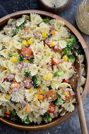 pasta slad simply scratch italian bowtie pasta salad simply scratch