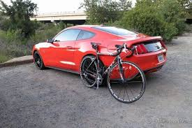 road test 2015 mustang will monty s road bike fit 2015 ford mustang gt