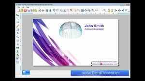 Designing by Free Business Card Designing Software Employee Company