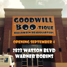 Home Decor Warner Robins Ga Goodwill Boo Tique Halloween Headquarters Opens Sept 4th In