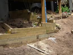 treated wood retaining wall 4x4 4x6 6x6 pergola s trellis s