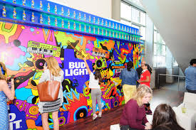 Austin Convention Center Floor Plan by Hargrove Helped Bud Light Create This Sound Wall Activation For
