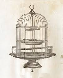 Birdcage Home Decor Old Fashioned Bird Cage