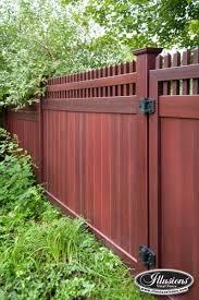 Backyard Fencing Cost - vinyl fencing cost vs wood fence gallery
