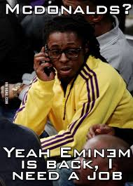 Funny Lil Wayne Memes - guess who s back back again humour funny pics and meme