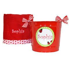 ladybug ribbon ladybug ribbon towel gift set for baby be hip