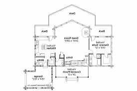 Cabin Blueprint by Open Concept Cottage Plans Webshoz Com