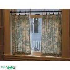 Window Sill Curtains Window Treatment With Tension Rod Curtain Homesfeed Regarding