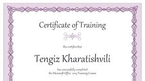 certificate for training 8 training certificate templates excel