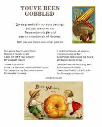 youve been gobbled fall sign with grateful emily dickinson