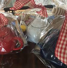 gift plastic wrap tea party in a bag the hostess gift bluffton tea company
