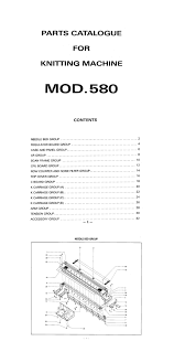 888610 singer parts catalogu for sk580 knitting machine hk km eshop