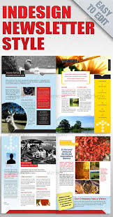 free indesign templates newsletter view an entire library of
