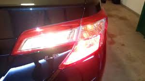 2015 toyota camry tail light 2013 toyota camry le checking tail lights after replacing bulbs