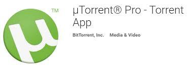 utorrent pro apk utorrent pro torrent app v3 11 apk downloader of android apps