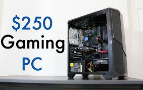 best black friday gaming pc deals 2016 ultimate 250 budget gaming pc 2016 console killer youtube