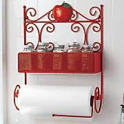 Red Spice Rack Spice Racks Paper Towel Holders U0026 More Ginny U0027s