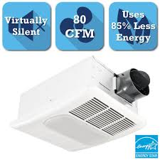 delta breez radiance series 80 cfm ceiling exhaust bath fan with