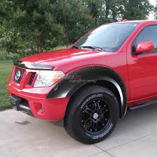 nissan frontier crew cab for 05 12 frontier extended crew cab fender wheel flares rivet