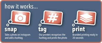 rent a photo booth hashtag printer lucky frog photo booth