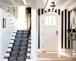 hallways interior traditional black and white hallway design with elegant