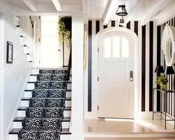 hallways interior traditional black and white hallway design with elegant