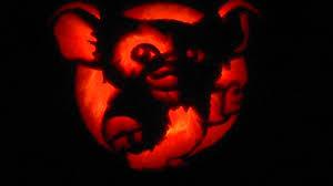 lighted pumpkins for halloween gizmo gremlins pumpkin carving youtube
