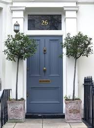 turquoise front door with red brick ideas the painted neon blue
