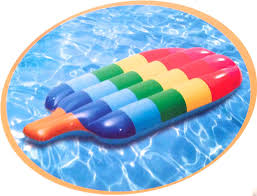 Inflatable Pool Floats by Amazon Com Popsicle Lounge Inflatable Raft Float By H2whoa Toys