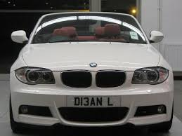 used bmw 1 series convertible used white bmw 1 series 2011 petrol 118i m sport convertible
