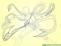 how to draw slender man with pictures wikihow