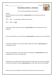 rounding word problems by supersophiee teaching resources tes