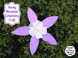 the diary of a nouveau soccer mom flower craft for kids rocky