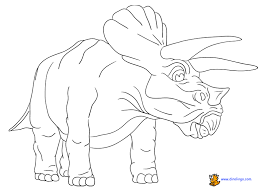 free dinosaur coloring pages pictures printouts free coloring