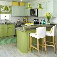 kitchens with shelves green 20 modern kitchens decorated in yellow and green colors