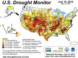 Usa Weather Map Explaining The Extreme Drought In U S Via Maps Climate Central